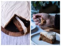 Bananabread mit Cheesecake-Topping selber machen