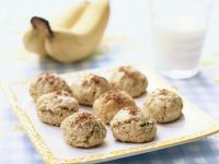 Bananen-Haferflocken-Plätzchen Rezept