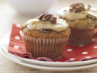 Bananen-Karamell-Muffins mit Pekannüssen Rezept