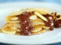 Bananen-Schoko-Crêpe Rezept