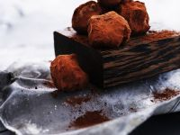 Bananenpralinen mit Kakao Rezept