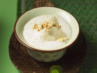 Bananenpudding mit Kokos und Sagoperlen Rezept