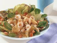 Bataviasalat mit Shrimpscocktail Rezept