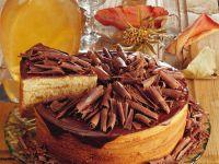 Buamkuchen mit Schokoraspeln Rezept