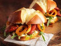 Bayerischer Chorizo-Burger Rezept