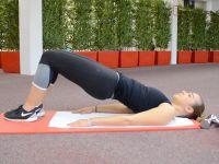 Beinworkout: Beckenheben