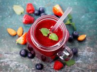 Beeren-Gemüse-Smoothie Rezept