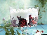 Beeren mit Joghurtcreme Rezept