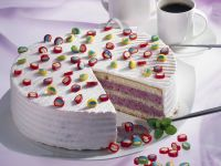 Beeren-Sahne-Torte Rezept