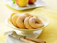 Beignets mit Apfel