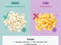 Gesunde Alternativen: Snacks