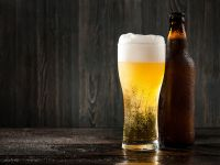 Das Bier bitte gut schütteln!