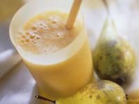 Birnen-Orangen-Smoothie Rezept