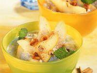 Birnen-Porridge Rezept