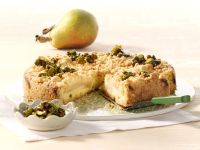Birnen-Quark-Streuselkuchen Rezept