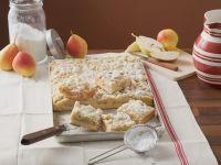 Birnenkuchen mit Streuseln Rezept