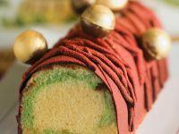 Biskuitkuchen mit Schokoladencreme Rezept
