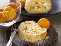 Biskuitrolle mit Aprikosencreme Rezept