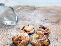 Blätterteig-Marmeladen-Kringel Rezept