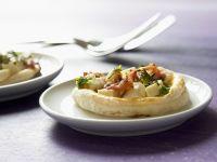 Blätterteigküchlein mit Käse und Schinken Rezept