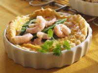 Blätterteigtarte mit Krabben Rezept