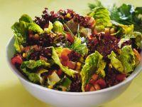 Blatt-Gemüsesalat Rezept