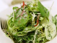 Blattsalat mit Joghurtdressing Rezept