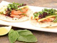 Blaubeer-Habanero-Lachs-Tacos Rezept