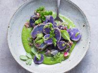 Blauer Kartoffelsalat Rezept