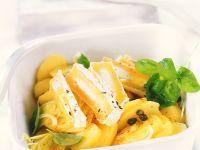 Blitz-Kartoffelsalat mit Käse Rezept