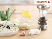 Leichter Blue-Cheese-Dip