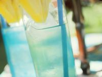 Blue Curacao-Cocktail Rezept