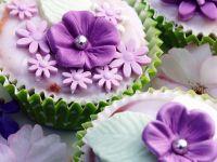 Blüten-Muffins Rezept