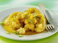 Blumenkohl in Currysauce Rezept