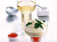 Blumenkohl-Püree mit Keta-Kaviar Rezept