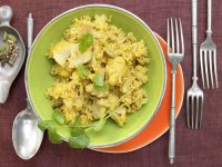 Blumenkohl-Reis-Pilaw Rezept