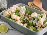 Blumenkohl-Salat mit Kichererbsen