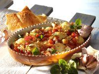 Blumenkohlgratin mit Tomaten Rezept