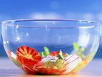 Blutorangensalat mit Zwiebeln und Rettich Rezept