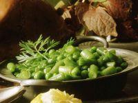 Bohnen-Erbsen-Gemüse Rezept