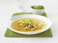 Bohnen-Gemüse-Suppe auf italienische Art Rezept