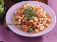 Bohnen mit Tomaten Rezept