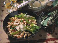 Bohnen-Sellerie-Gemüse Rezept