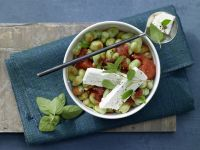 Bohnen-Tomaten-Gemüse Rezept
