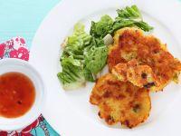 Bohnenbratlinge mit Salat Rezept