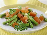 Bohnengemüse mit Tomaten Rezept