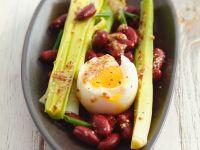 Bohnensalat mit Ei Rezept