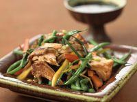 Bohnensalat mit Lachs Rezept