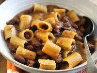 Bohnensuppe mit Nudeln Rezept