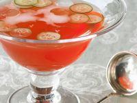 Bowle mit Gin, Aperol und Prosecco